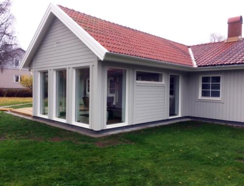 Familj på Höglandet, nöjda med allt ifrån rådgivning, beställning och leverans.