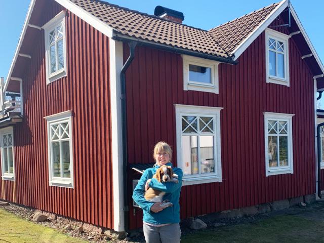 Malin & Kalle Rönngård, det känns som vi har fått ett nytt hus!
